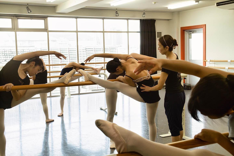 クラス案内の大人バレエ