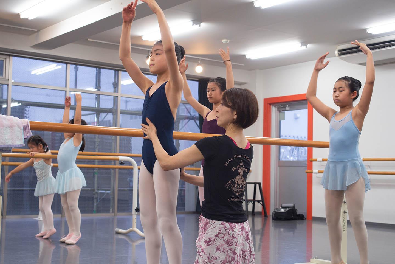 クラス案内の子供バレエA